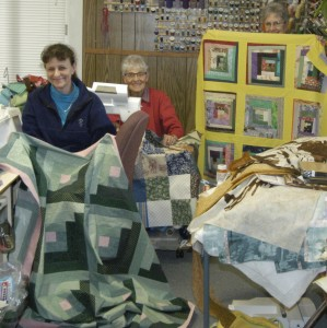 Sew Saturday quilts for charity.