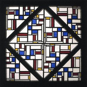 Theo van Doesburg stained glass window