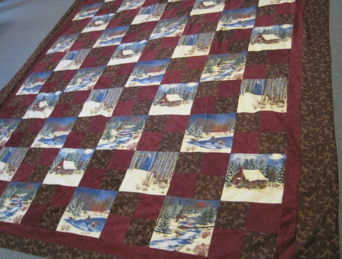 #Winter theme quilt