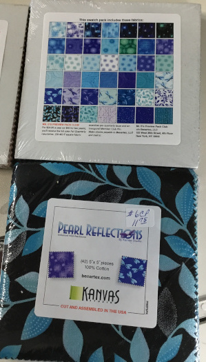 Pearl Reflections 5 inch squares