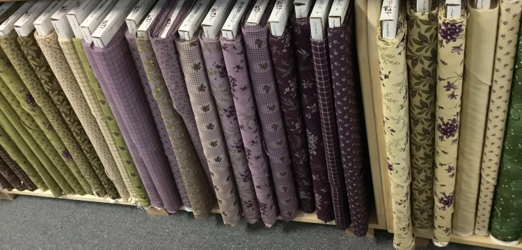 Sweet Violet fabrics, picture 1