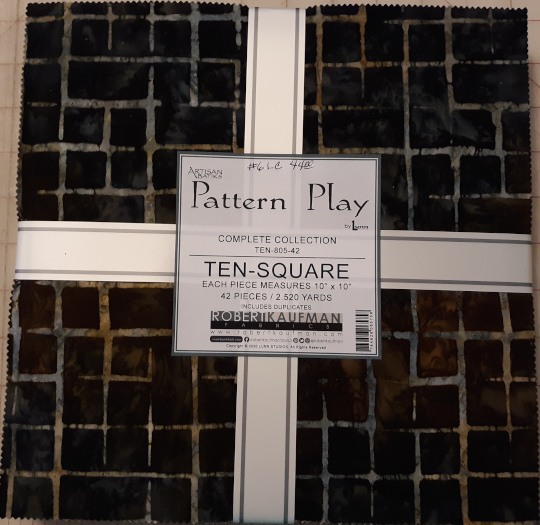 Pattern Play 10square by Robert Kaufmann